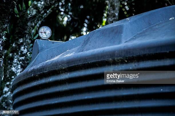 Guage on water tank