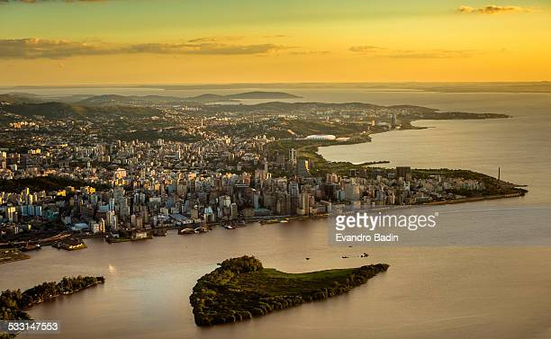 guaiba - porto alegre stock pictures, royalty-free photos & images