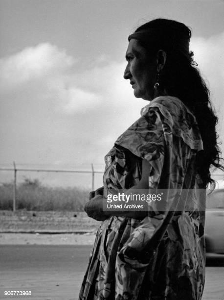 Guajiro woman near Maracaibo Venezuela 1970s