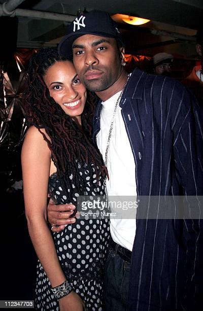 Gualape and Ginuwine during Ginuwine's Album Release Party in New York City November 15 2005 at Deep in New York City New York United States