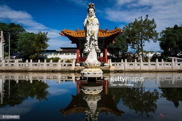 Guan Yin statue of Perak Tong Cave Temple of Ipoh, Perak, Malaysia