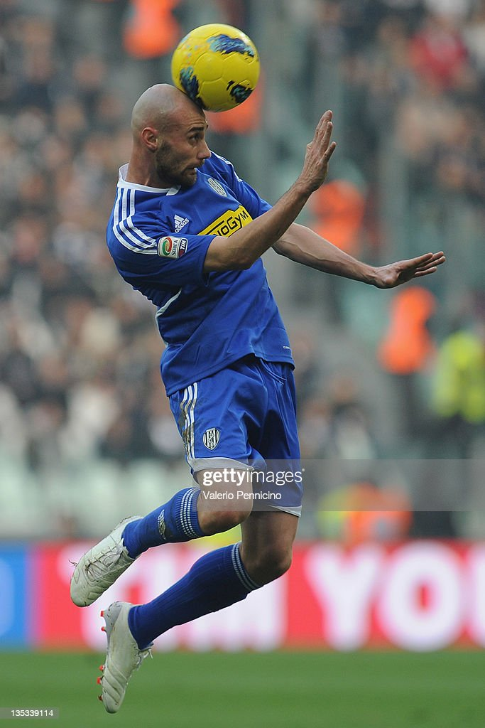 Guana Roberto of AC Cesena in action during the Serie A ...