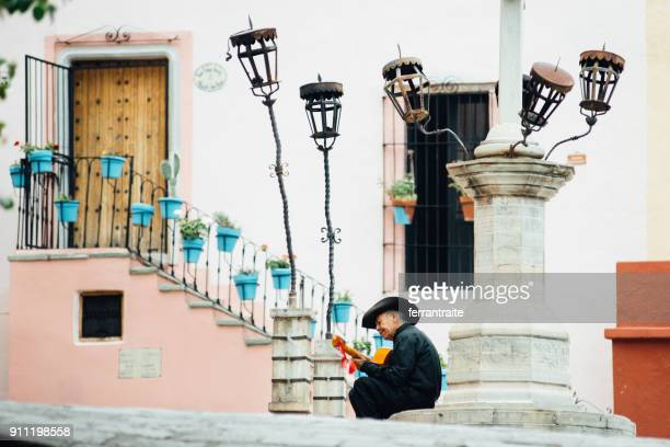guanajuato - classical guitar stock photos and pictures