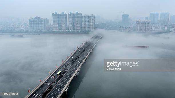 Guangdong city of Qingyuan Province in the middle of the river island