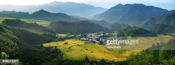 Guangdong Province Qingyuan City Terrace hill county