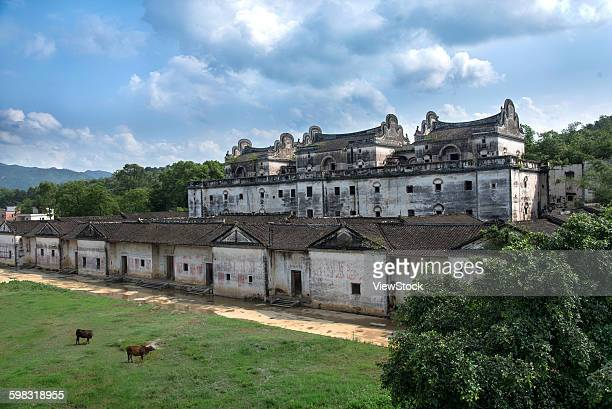Guangdong Province Qingyuan Yangshan shrine of ancient buildings