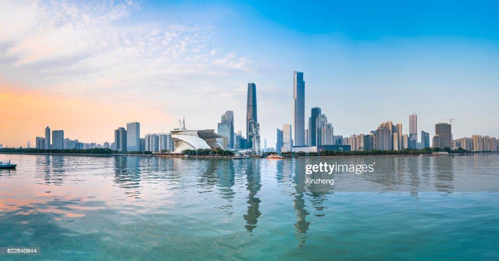 Guangzhou city scenery : Stock Photo