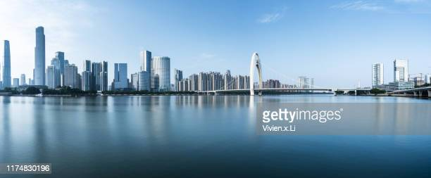 guangzhou cityscape - guangzhou stock pictures, royalty-free photos & images