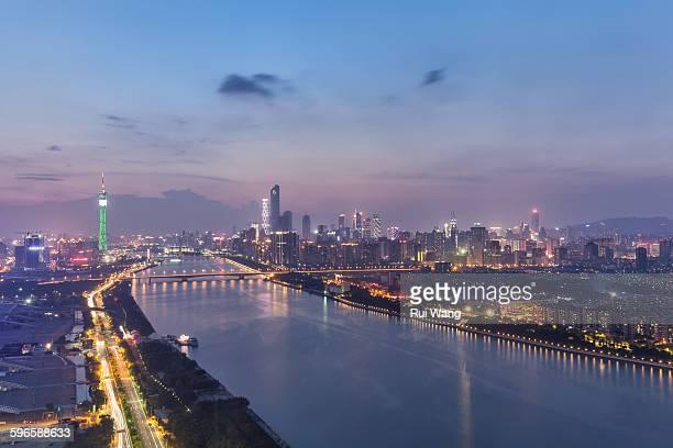 Guangzhou Panorama Night
