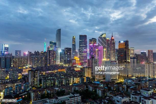 guangzhou pearl river new town - guangzhou stock pictures, royalty-free photos & images
