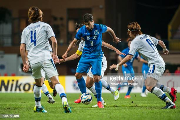 Guangzhou RF forward HamedAllah Abderrazzaq in action during the 2015 AFC Champions League Group Stage F match between Guangzhou RF and Gamba Osaka...