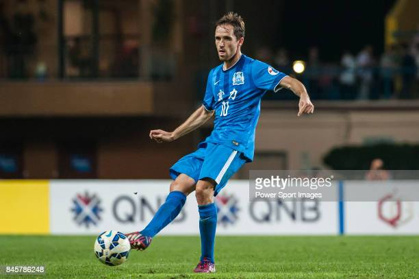 Guangzhou RF midfielder Miguel Javaloyas in action during the 2015 AFC Champions League Group Stage F match between Guangzhou RF and Gamba Osaka on...