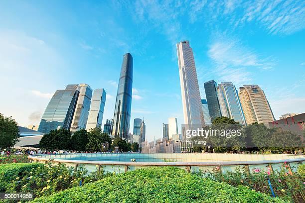 Guangzhou skyline
