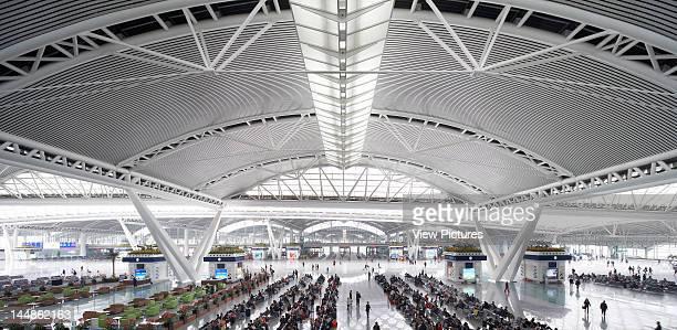 Guangzhou South StationGuangzhouChina, Architect: Terry Farrell And Partners Guangzhou South Station, Terry Farrell + Partners, Guangzhou, China,...