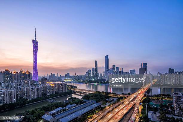 guangzhou tower liede bridge