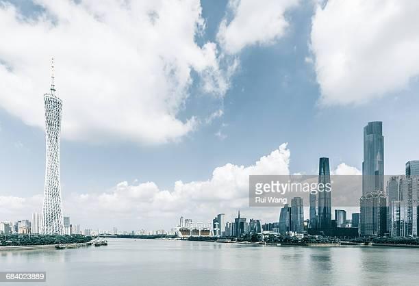 Guangzhou urban skyline