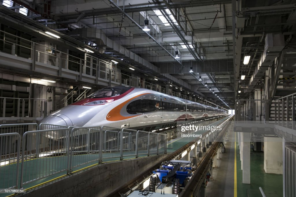 Tour of the Guangzhou-Shenzhen-Hong Kong Express Rail Link Trains