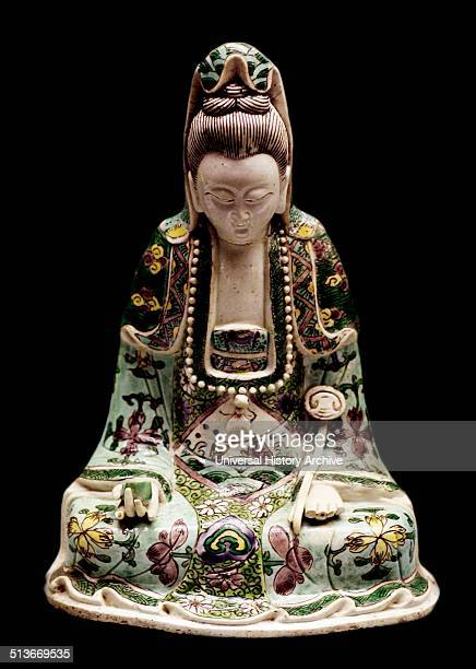 Guanyin figure is the Bodhistattva associated with compassion as venerated by East Asian buddhists, ussually as a female. The name Guanyin is short...