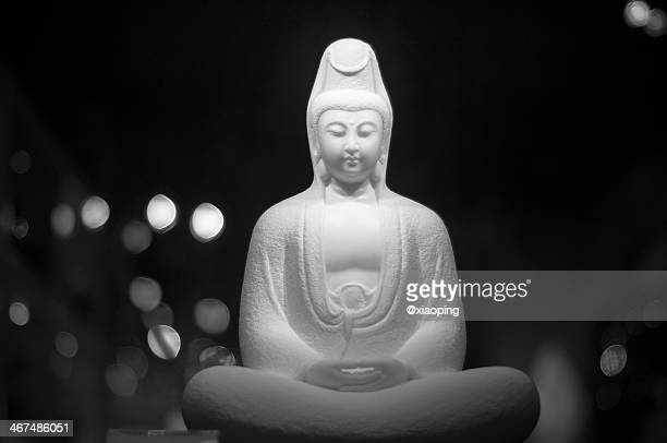 guanyin - guanyin bodhisattva stock pictures, royalty-free photos & images