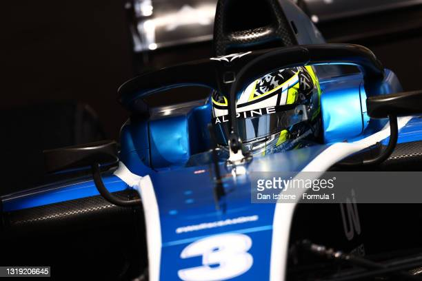 Guanyu Zhou of China and UNI-Virtuosi Racing drives during Sprint Race 1 of Round 2:Monte Carlo of the Formula 2 Championship at Circuit de Monaco on...