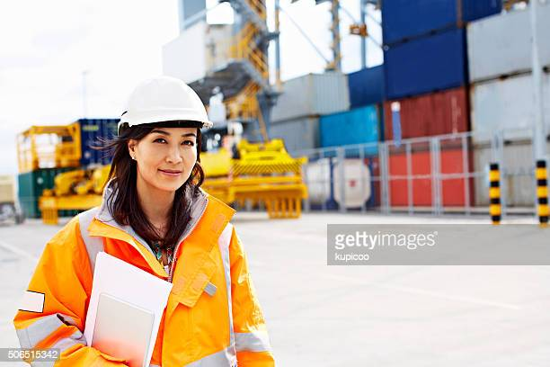 i guarantee these containers will be there on time - pier stock pictures, royalty-free photos & images