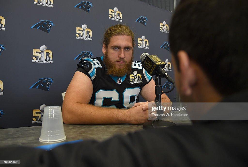 Carolina Panthers Media Availability : News Photo