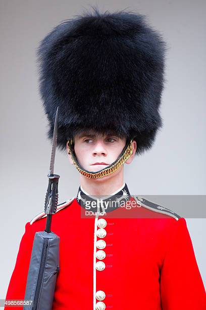 guard at the tower of london - honor guard stock pictures, royalty-free photos & images