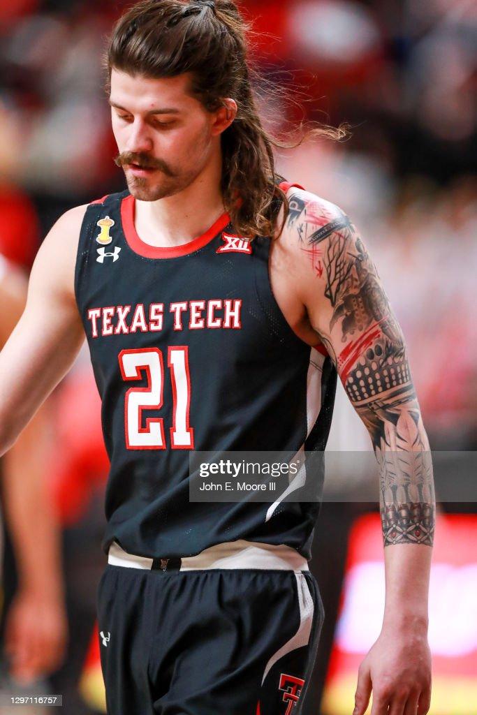 Avery Benson Texas Tech Red Raiders Basketball Jersey