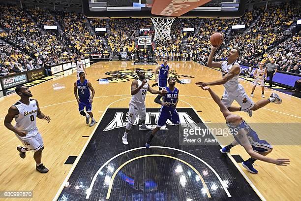 C.J. Keyser Wichita State Shockers Basketball Jersey-Black