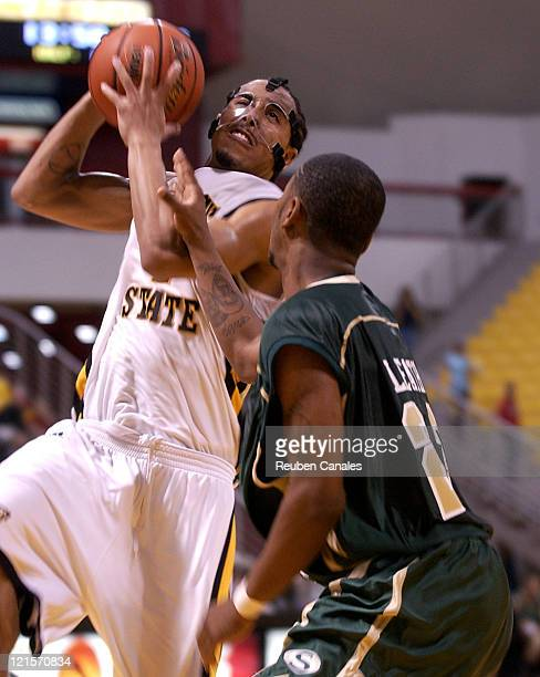 Guard Kejuan Johnson of the Long Beach State 49ers in a 76 to 55 win over the Sacramento State University Hornets on December 9 2006 at the Walter...