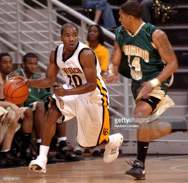 Guard Kevin Houston of the Long Beach State 49ers in a 76 to 55 win over the Sacramento State University Hornets on December 9 2006 at the Walter...