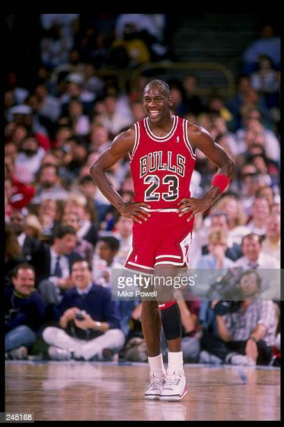 Guard Michael Jordan of the Chicago Bulls in action. Mandatory Credit: Mike Powell /Allsport