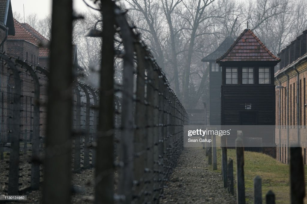 Auschwitz Concentration Camp Memorial : News Photo