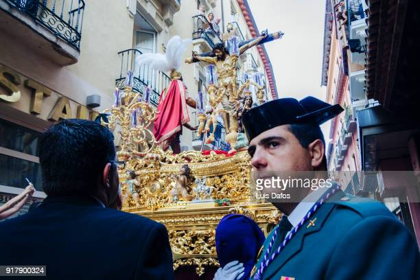 Guardia Civil at Holy Week procession