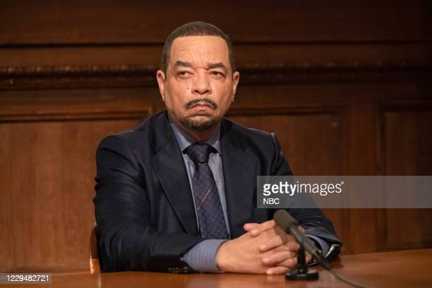 """Guardians and Gladiators"""" Episode 22003 -- Pictured: Ice T as Detective Odafin """"Fin"""" Tutuola --"""