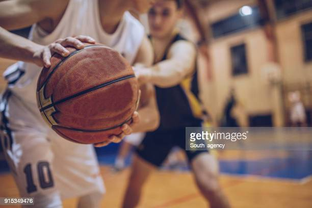 guarding his player - match sport stock pictures, royalty-free photos & images