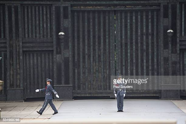 Guards at Imperial Palace in Tokyo