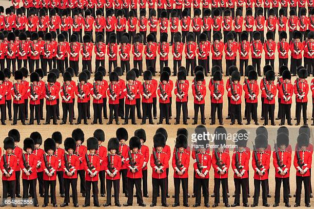Guards at Trooping the Colour, London