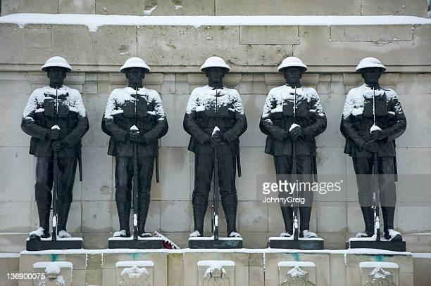 Guards memorial to the fallen of World War 2