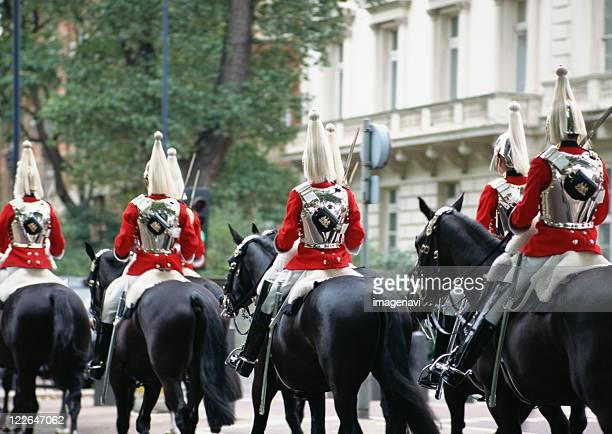 Guardsman of cavalry