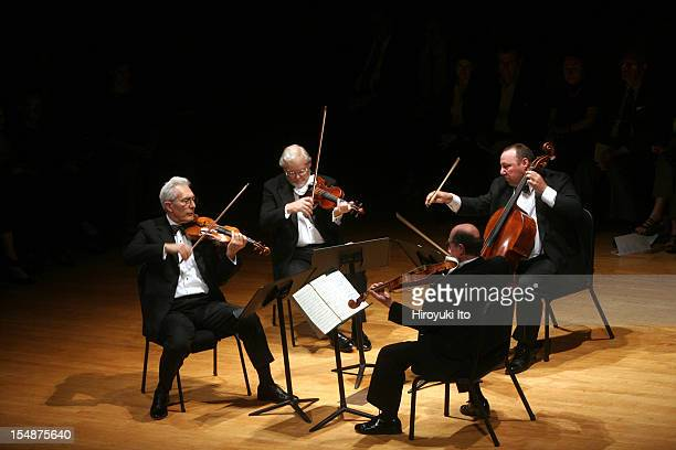 Guarneri String Quartet performing at the Metropolitan Museum on Saturday night May 16 2009This imageThe Guarneli String Quartet performing...