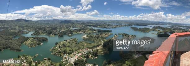 Guatape Reservoir, Guatape, Colombia.