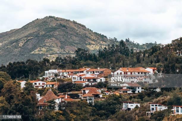 guatavita - cundinamarca stock pictures, royalty-free photos & images