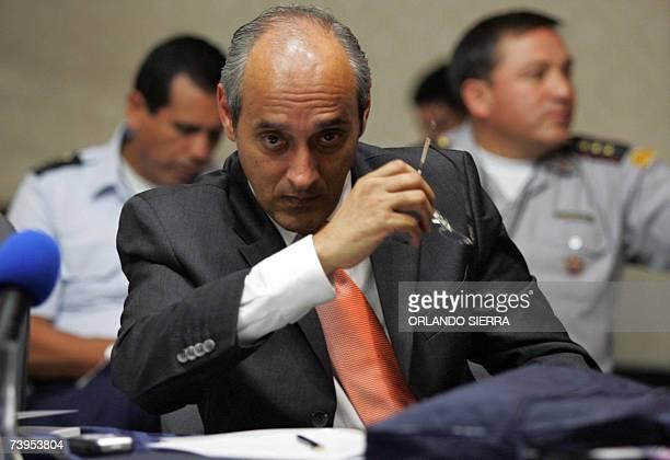 Eduardo Lopez embajador de Colombia en Guatemala participa en la I Conferencia Regional sobre Violencia Armada y Desarrollo en America Latina y...