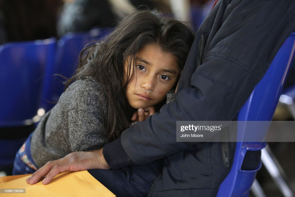 Number Of Immigrant Asylum Seekers Surges In Texas' Rio Grande Valley : News Photo