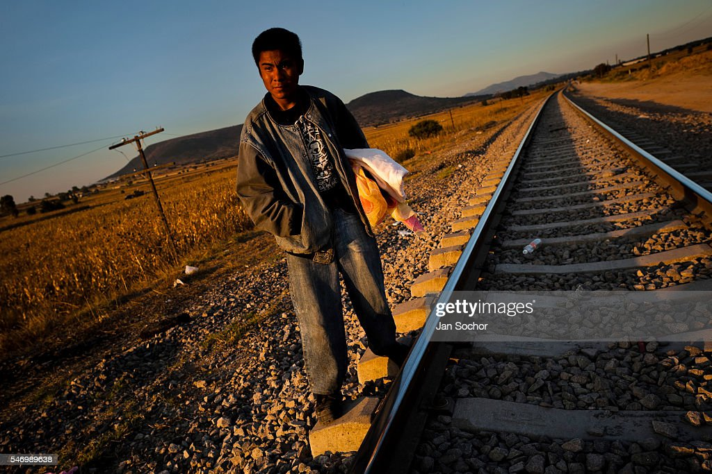 A Guatemalan immigrant waits on the railroad track to climb up the cargo train passing through the train station in Huehuetoca, Mexico, 7 November 2014. Between 2010 and 2015, the US and Mexico have apprehended almost 1 million illegal immigrants from El Salvador, Honduras, and Guatemala. While the economic reasons remain the most frequent motivation for people from Central America to illegally immigrate to the US, thousands of Salvadorans, Guatemalans, and Hondurans, many of them minors, seek asylum in the US due to the thriving crime and gang-related violence in their region (known as the Northern Triangle).