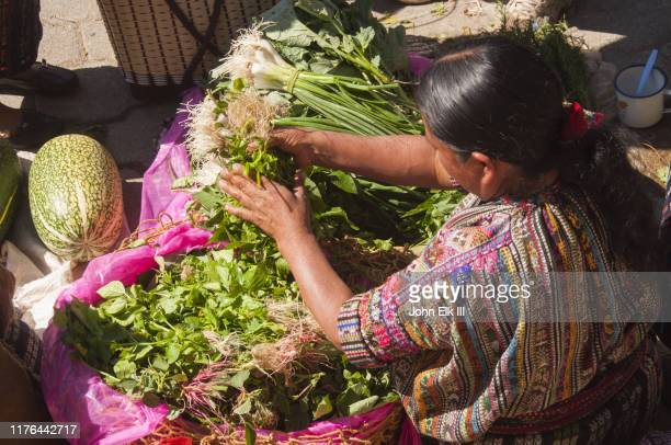 guatemalan market scene - colonial stock pictures, royalty-free photos & images