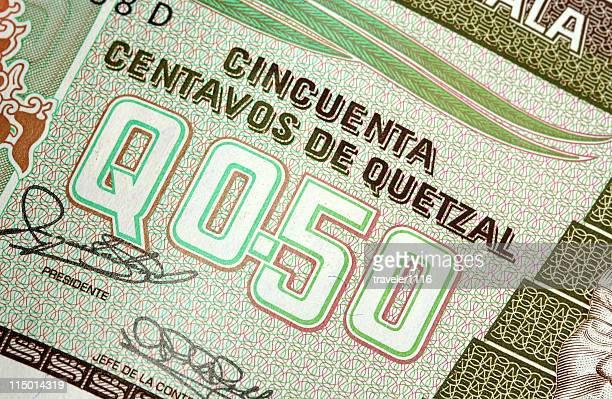 Guatemala, dinheiro
