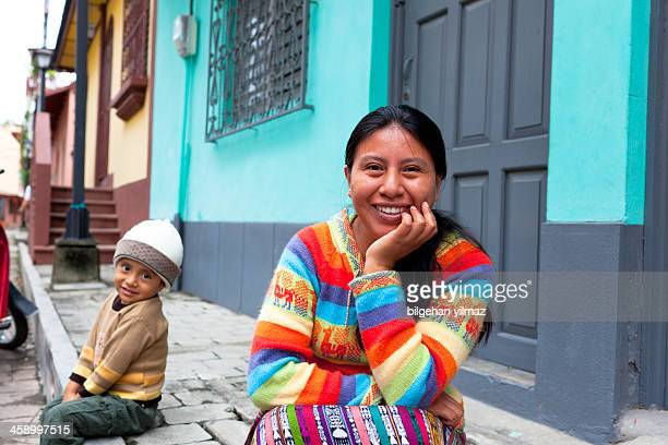 guatemalan woman - guatemala stock pictures, royalty-free photos & images