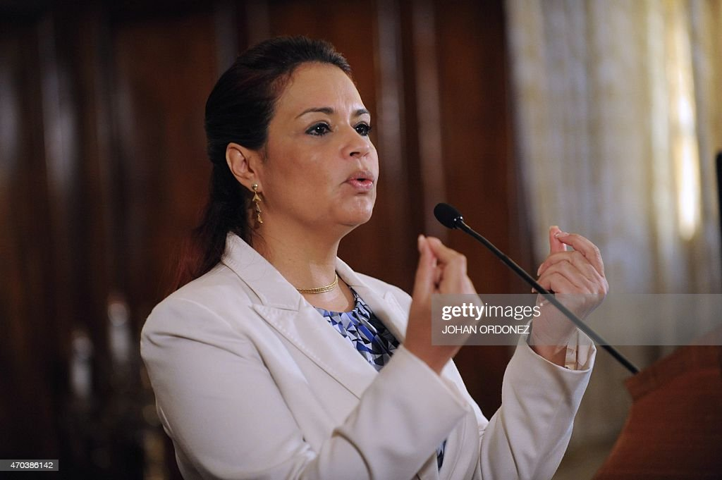 GUATEMALA-POLITICS-JUSTICE-CORRUPTION-BALDETTI : ニュース写真